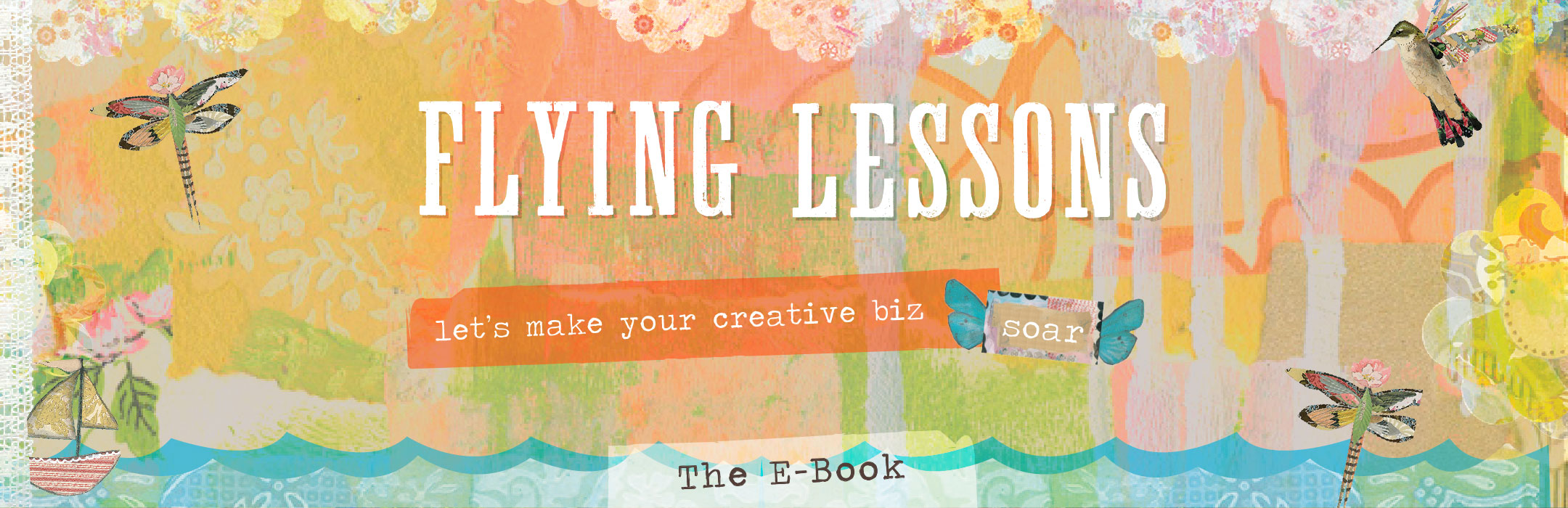 Flying Lessons let's make your creative biz soar